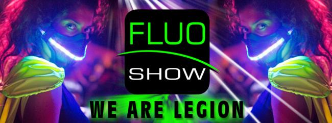 L'originale Fluo party targato FLUO SHOW