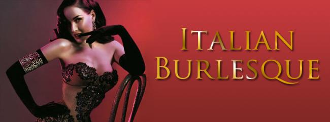 La sensualità e l'ironia del Burlesque