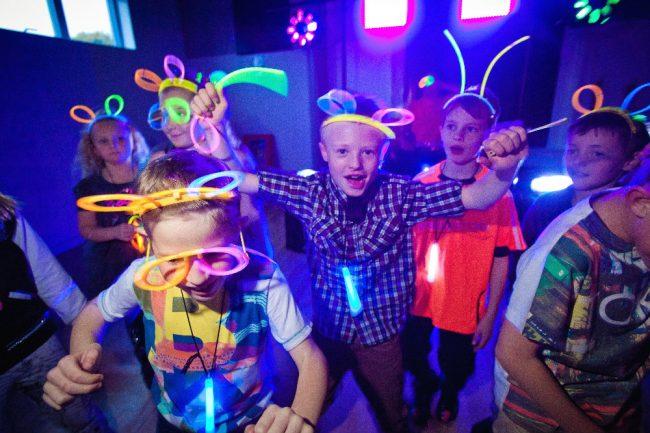 Festa di compleanno Fluo per bambini